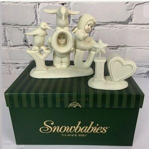 Department 56 Snowbabies Collectable I LOVE You
